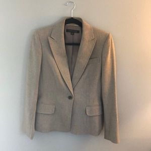 BROWN ANNE KLEIN BLAZER